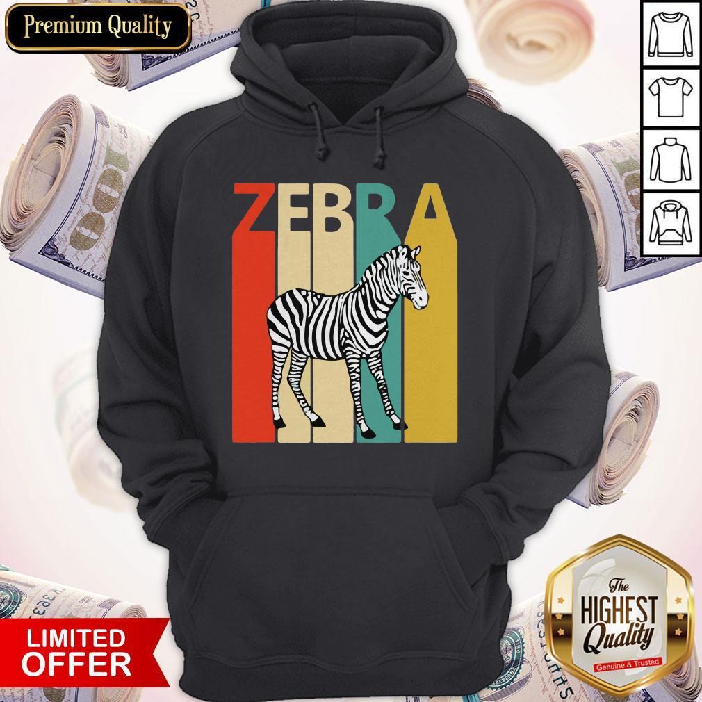 Funny Zebra Animal Animal Gift Baseball Shirt