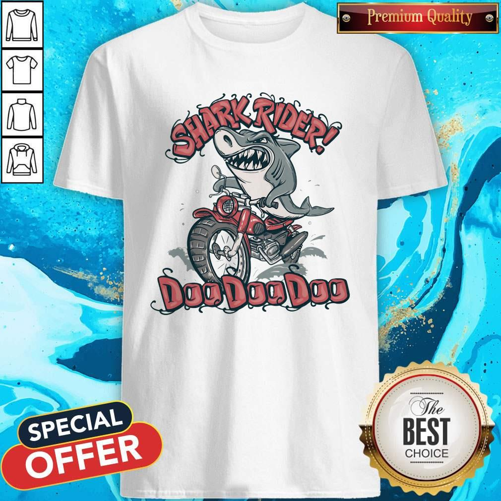 Official Shark Rider Doo Doo Doo Shirt