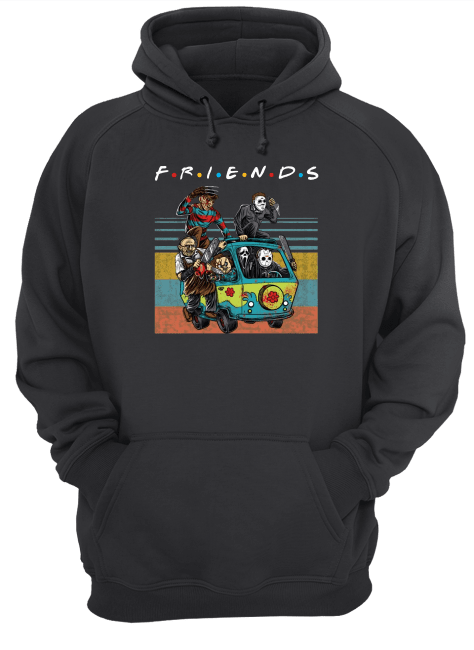Horror Friends In The Car Halloween Shirt