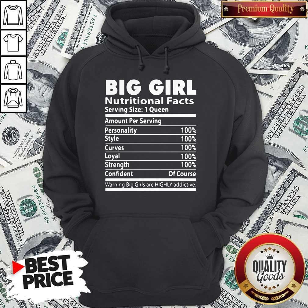 Big Girl Nutritional Facts Shirt