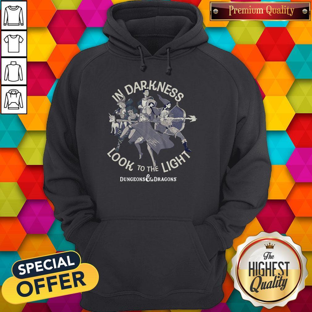 Cute In Darkness Look To The Light Dungeons And Dragons Shirt