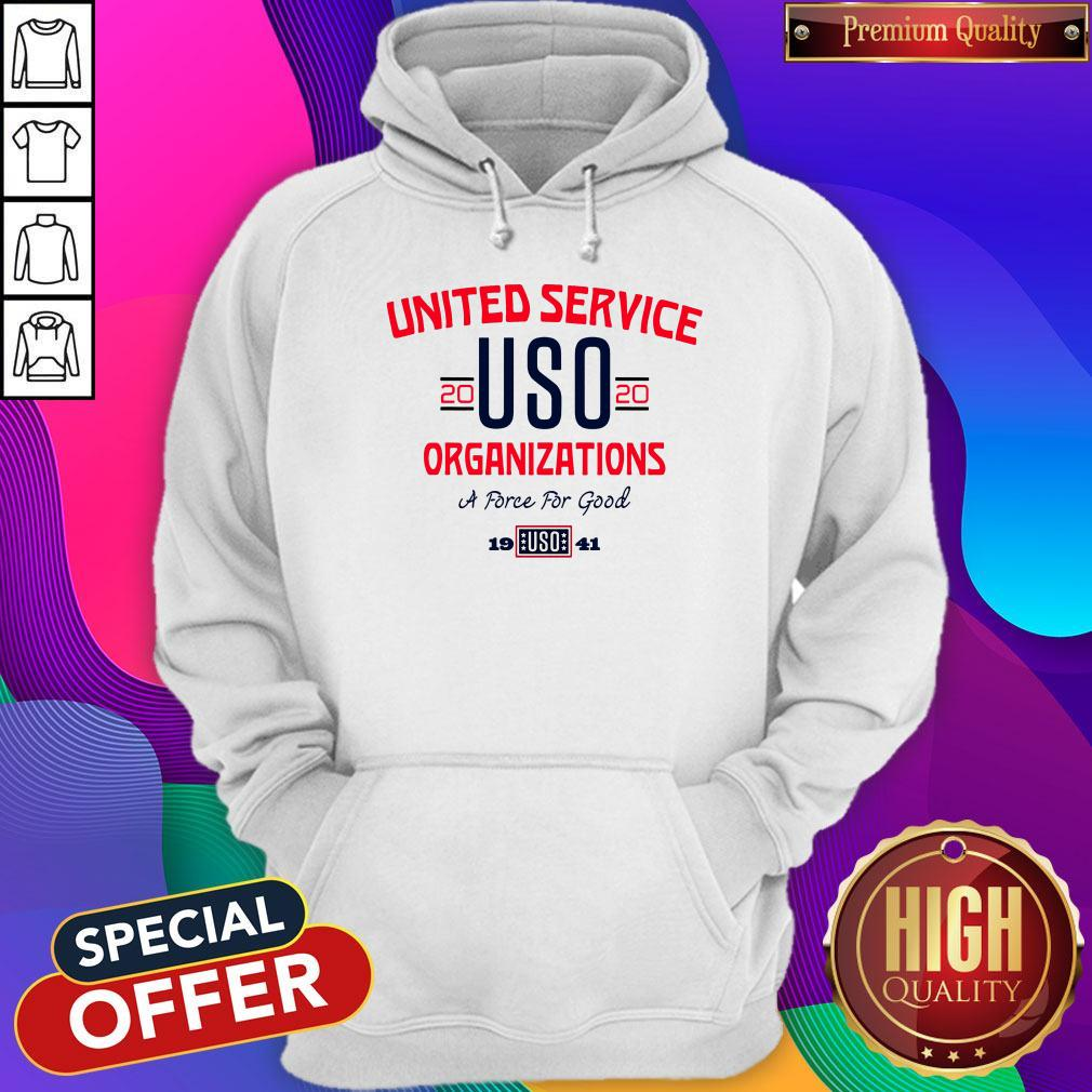 Good United Service USO 2020 Organizations A Force For Good Shirt